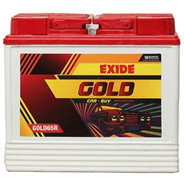 Exide GOLD 65R Car Battery (65Ah)