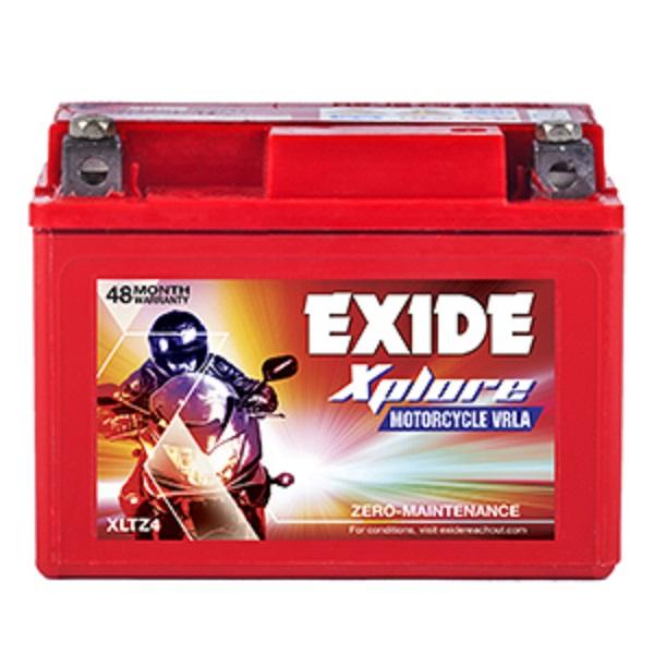 EXIDE XPLORE XLTZ4 BATTERY(3AH)