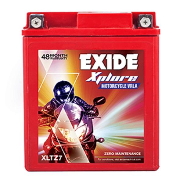 EXIDE XPLORE XLTZ7 (6AH) BATTERY
