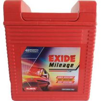 Exide Mileage ML38B20R Car Battery (35Ah)