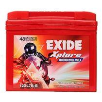 EXIDE XPLORE 12XL7B-B (7AH) BATTERY