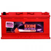 Exide Matrix MTRED Din-100 Battery