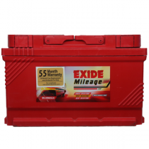 Exide Mileage ML Din-65 Car Battery (65Ah)