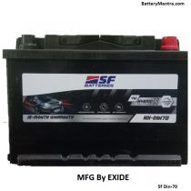 SF F4W0- HX-Din 70 Hybrid Car Battery