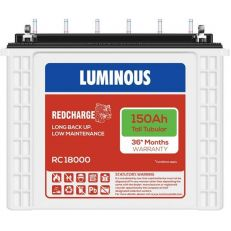 Luminous Red Charge Rc18000 Tall Tubular 150Ah Battery