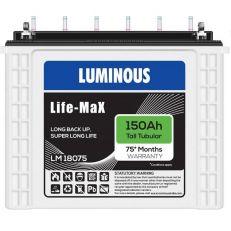 Luminous LifeMax LM18075 150Ah Tall Tubular Battery