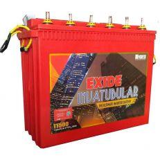 Exide Inva Tubular IT500 Tubular Inverter Battery (150 AH)