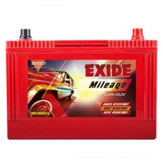 Exide Mileage ML105D31L Battery