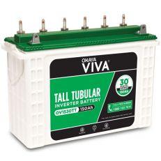 Okaya OV1530TT VIVA Tall Tubular Inverter Battery(150)