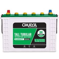 Okaya XL6000TT Tall Tubular Inverter Battery(150Ah)