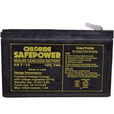 Exide Safe Power12v 7Ah Sealed Maintenance Free - UPS Battery