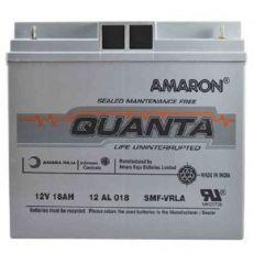 Amaron Quanta 18AH SMF UPS Battery   12AL018