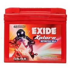 EXIDE XPLORE 12XL7B-B (7AH) BATTERY