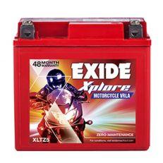 EXIDE XPLORE XLTZ5 (4AH) BATTERY