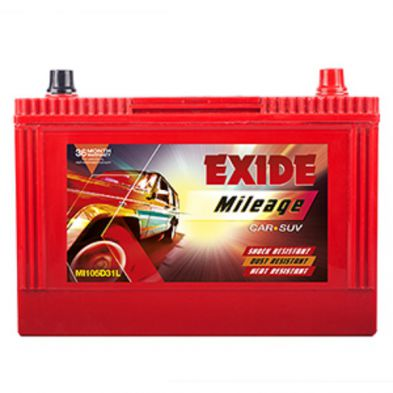 Exide Mileage ML105D31L Battery