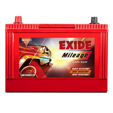 Exide Mileage ML 105D31R Battery