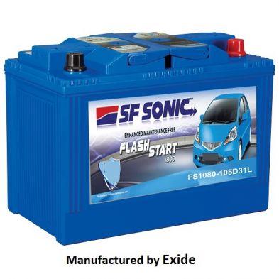 SF Sonic Flash Start -1080-105D31L (85Ah) Battery