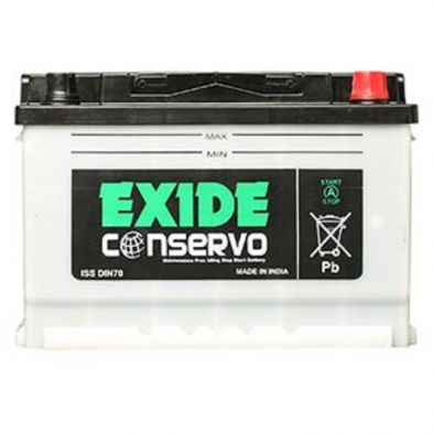 Exide Conservo Din-70 Battery