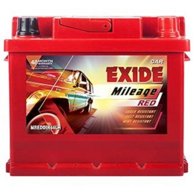 Exide Mileage ML Din 44LH Car Battery(44Ah)