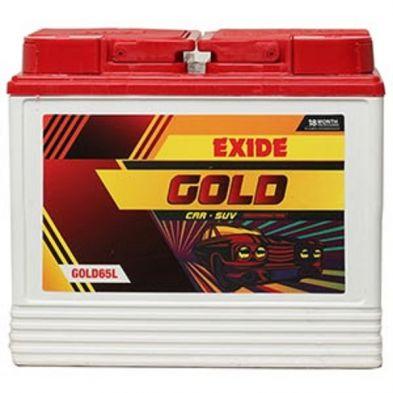 Exide GOLD 65L Car Battery (65Ah)