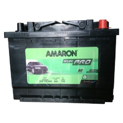 Amaron AAM-PR-574102069 Din-74 Car Battery (74 Ah)