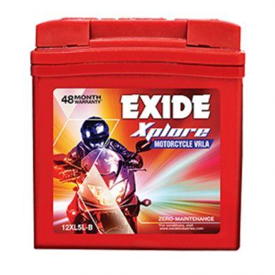 EXIDE XPLORE 12XL5L-B BATTERY (5AH)