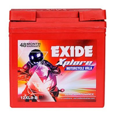 EXIDE XPLORE 12XL9-B (9AH) BATTERY