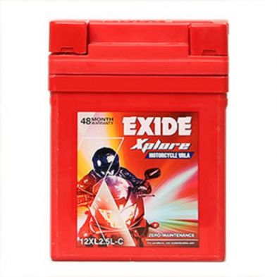 EXIDE XPLORE 12XL2.5L-C BATTERY
